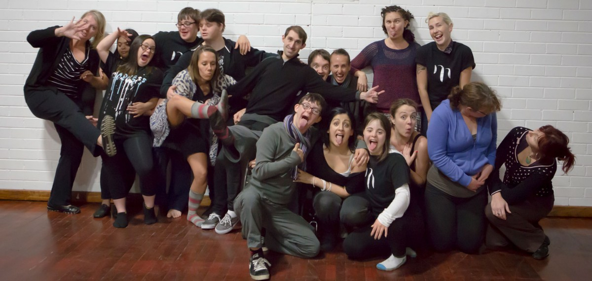 A-group-shot-of-the-facilitators-and-participants-at-Murmurations-first-workshop-all-pulling-silly-faces