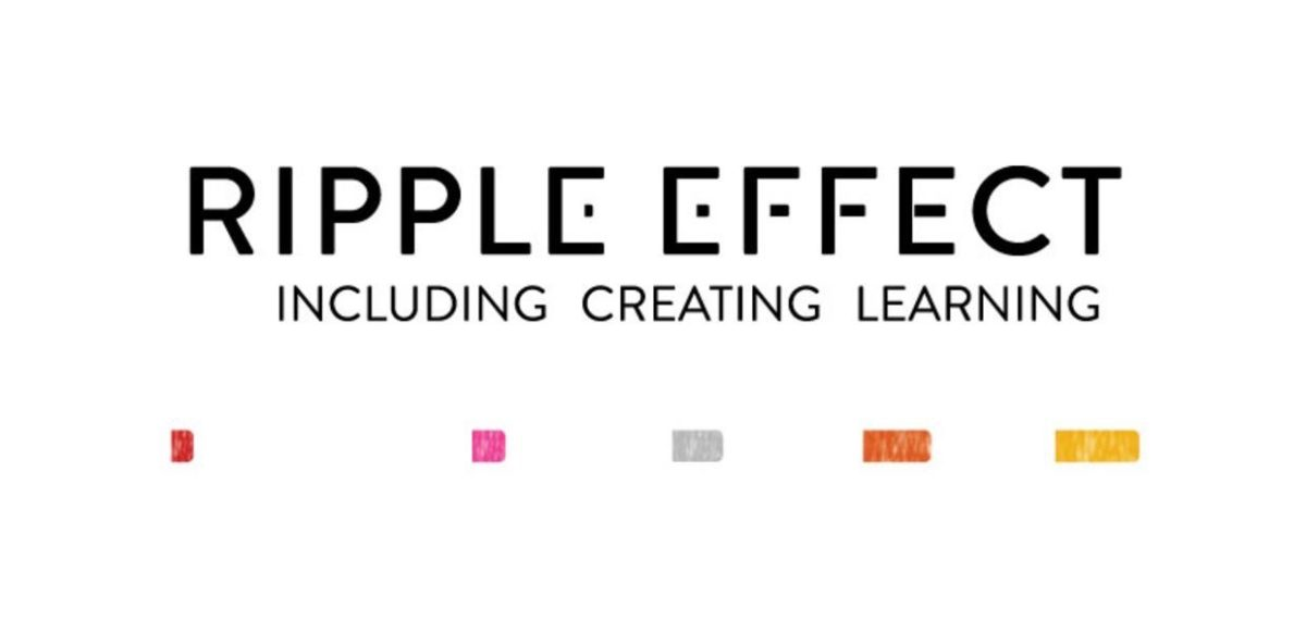 Ripple Effect logo. Byline reads Including Creating Learning.